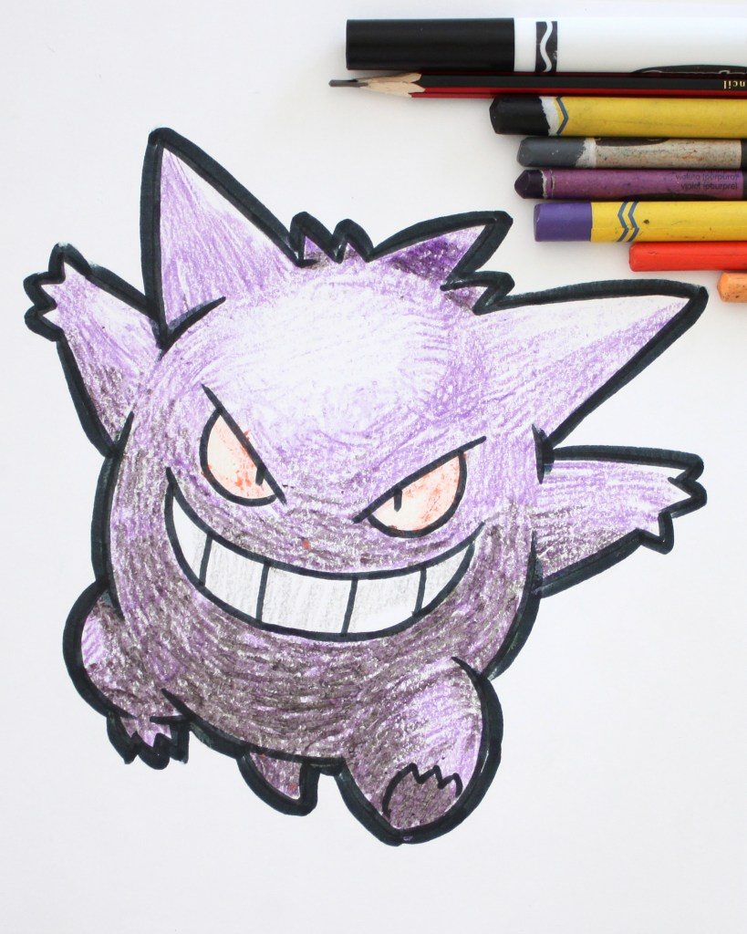 Gengar Drawing