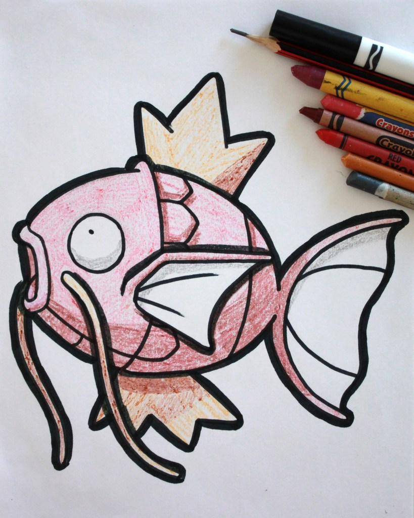 Magikarp Drawing