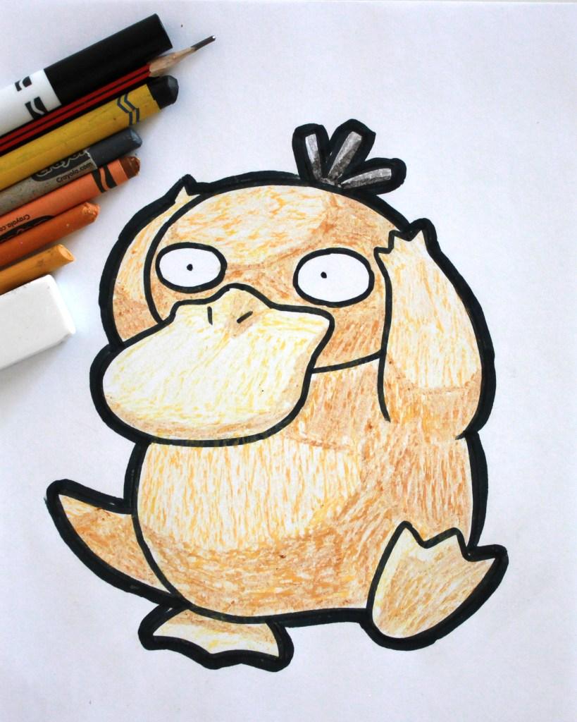 Psyduck Drawing