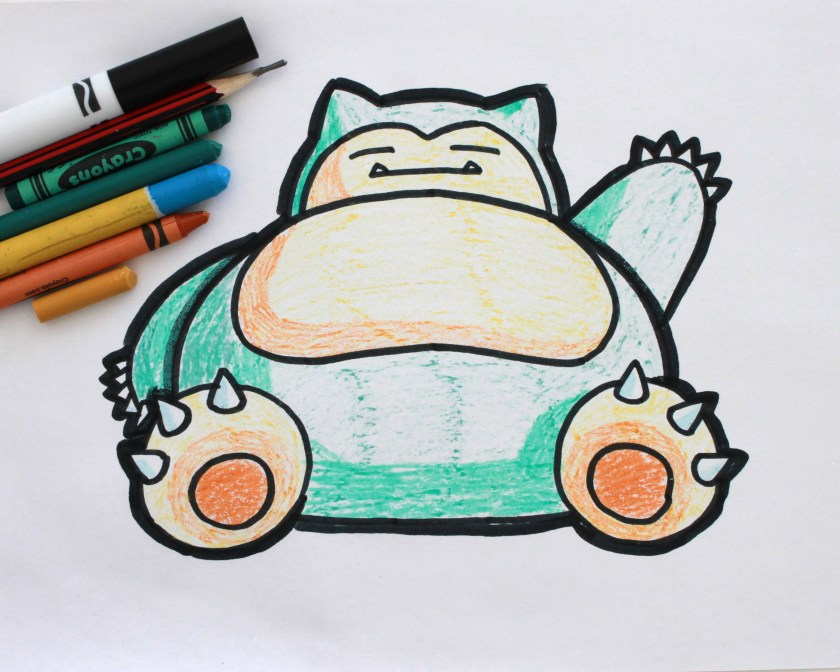 Snorlax Drawing