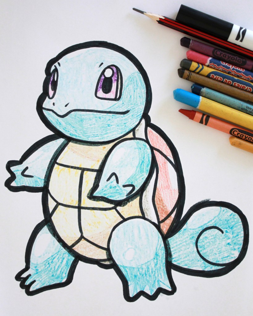 Squirtle Drawing
