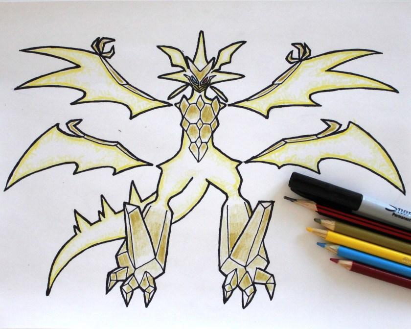 Ultra Necrozma Drawing