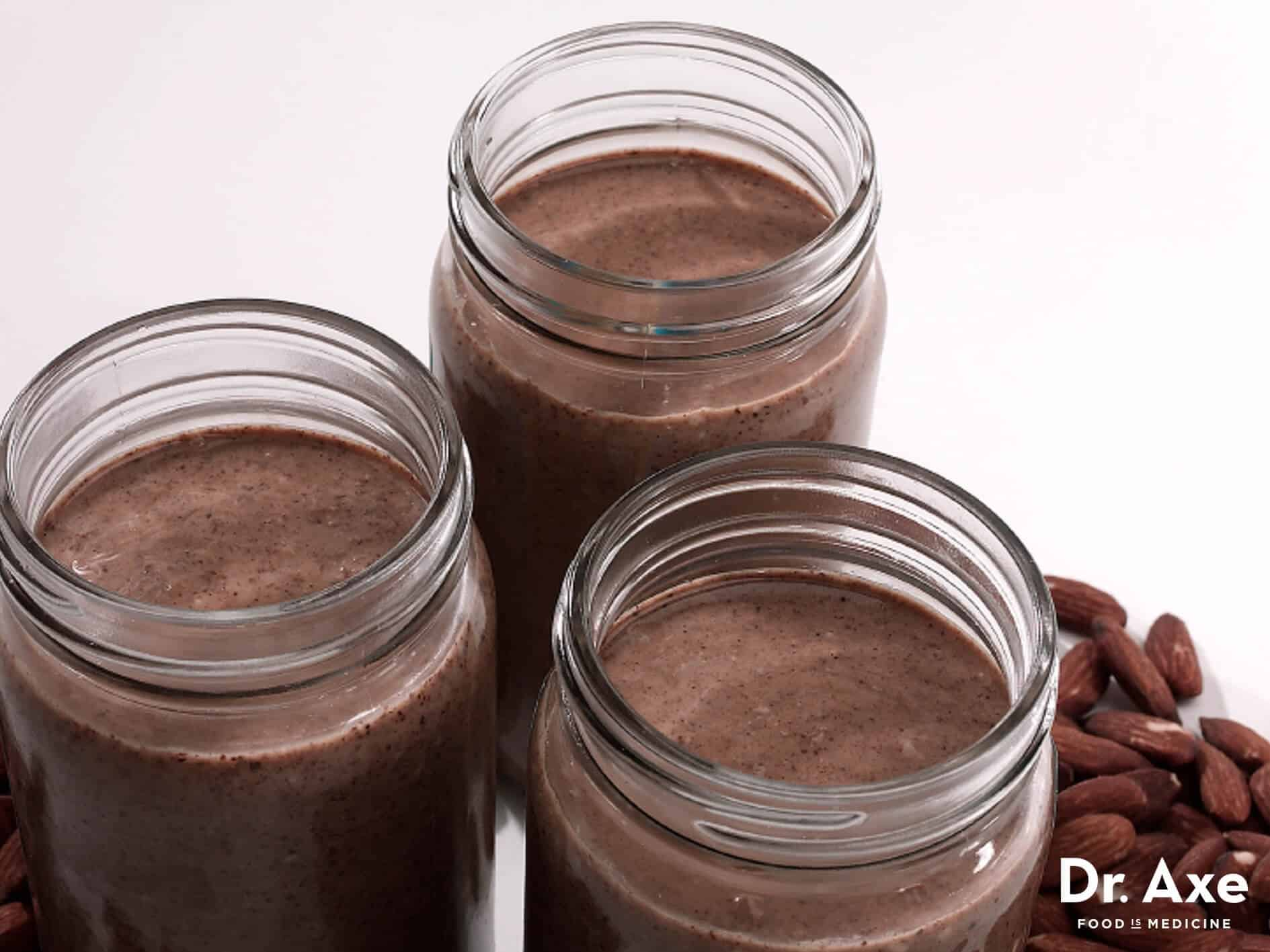 Dark chocolate almond butter recipe - Dr. Axe