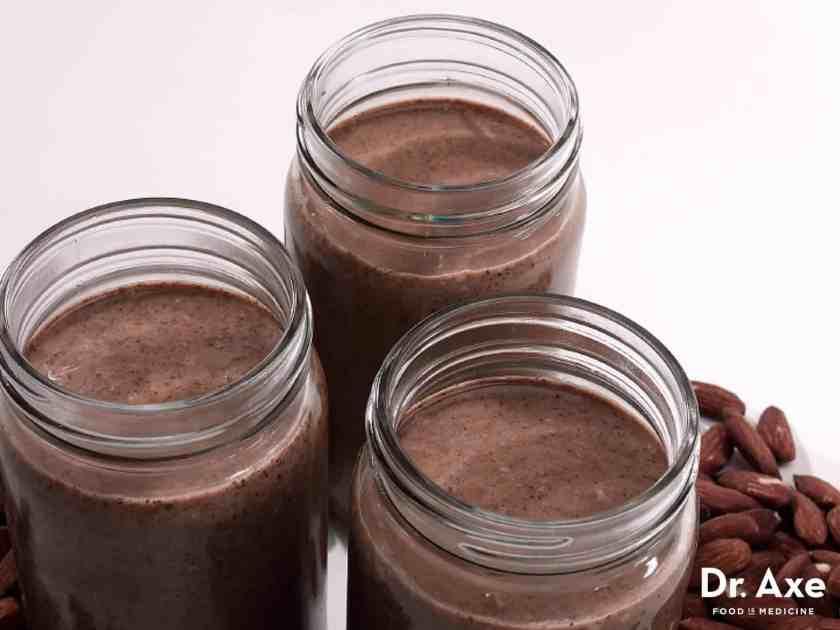 Dark chocolate almond butter recipe - Dr. Axe