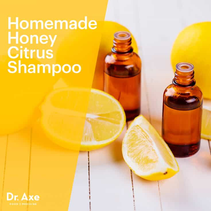 Homemade Honey Citrus Shampoo - Dr.Axe