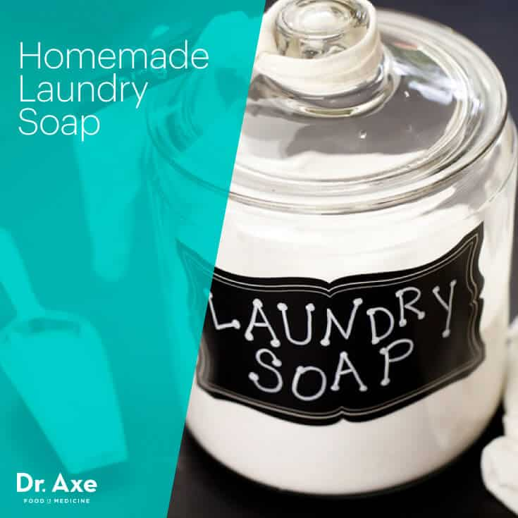 Homemade Laundry Soap Dr Axe