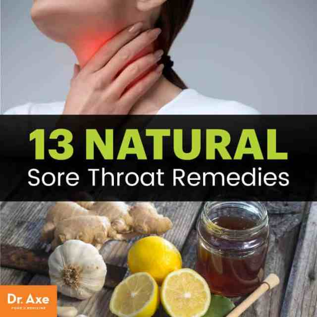 13 natural sore throat remedies
