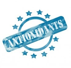 antioxidants stamp label