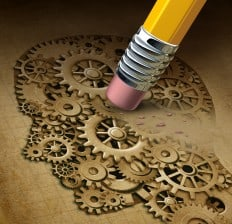 Brain Function and memory Loss illustration