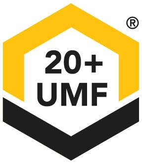 UMF 20 sign label stamp