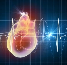heart and cardiogram virtual