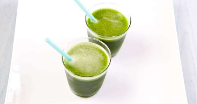 Cilantro Ginger Smoothie