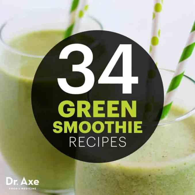 Green smoothie recipes - Dr. Axe