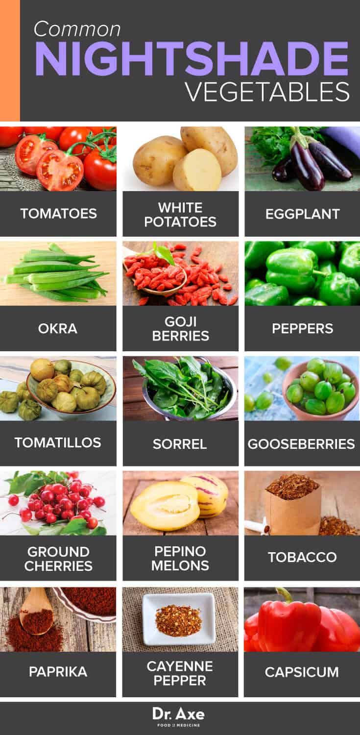 Nightshade Vegetables How To Find Out If Theyre Bad For