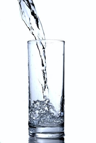 water in glass, drinking water