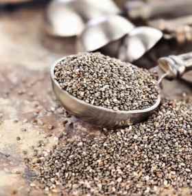 Spoonful Of Chia Seeds