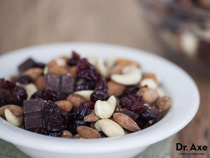 Homemade Trail Mix, Dr. Axe Recipes
