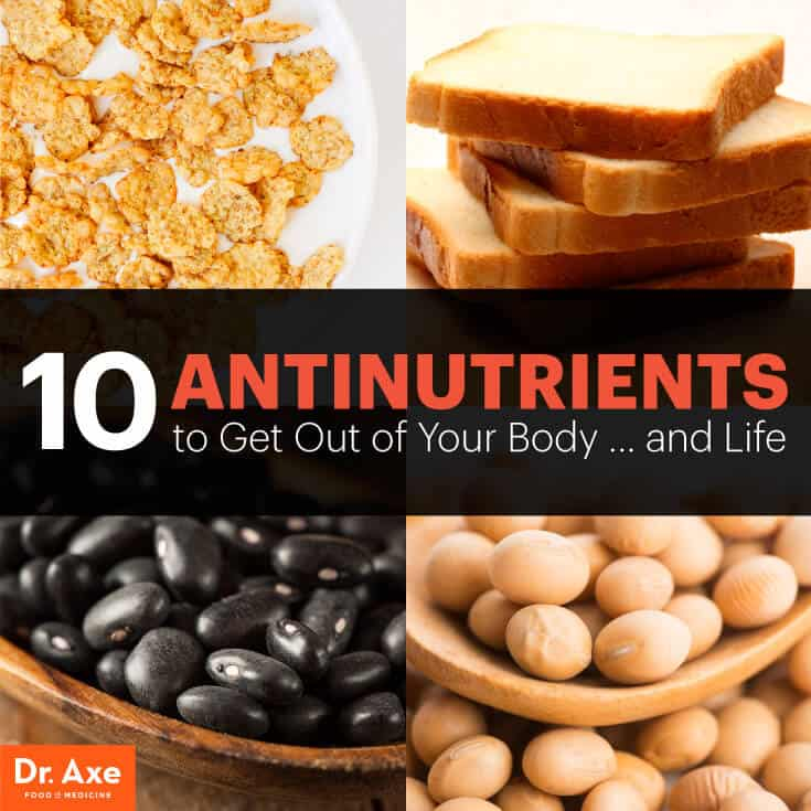 Foods with antinutrients - Dr. Axe