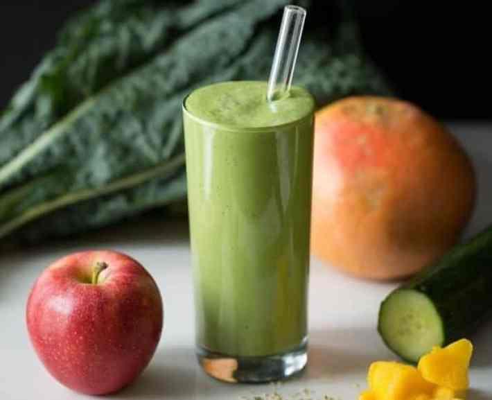 Green Warrior Protein Smoothie