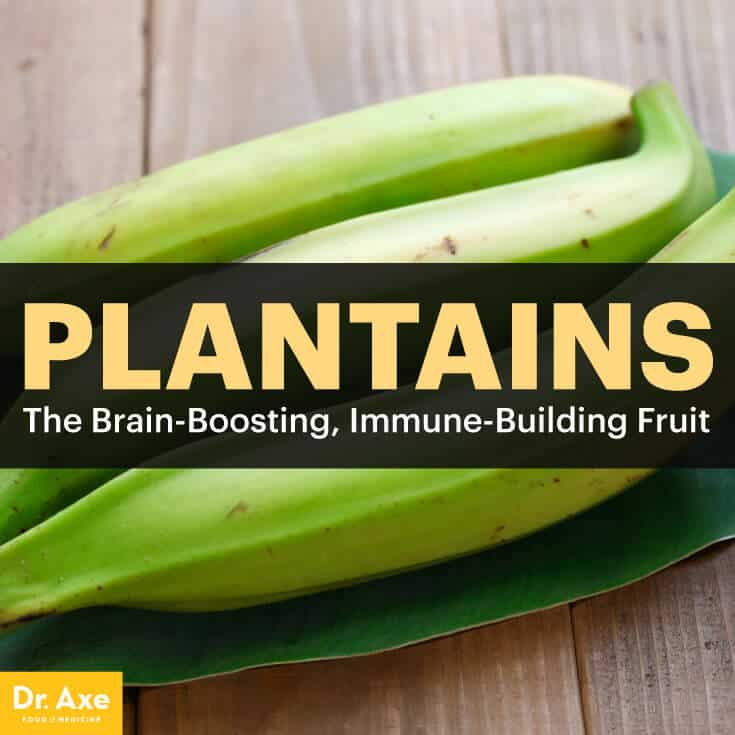 Plantains - Dr. Axe
