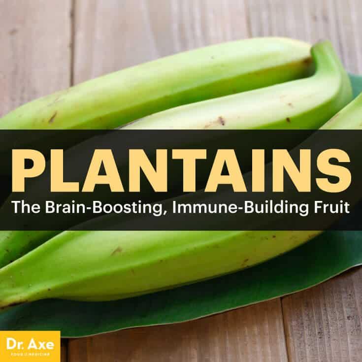 Plantains - Dr. Axe