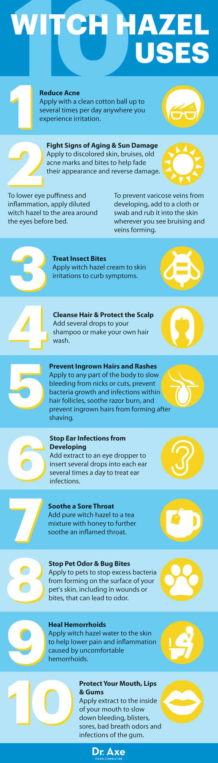 How To Use Witch Hazel To Clear Up Your Skin Fast Dr Axe