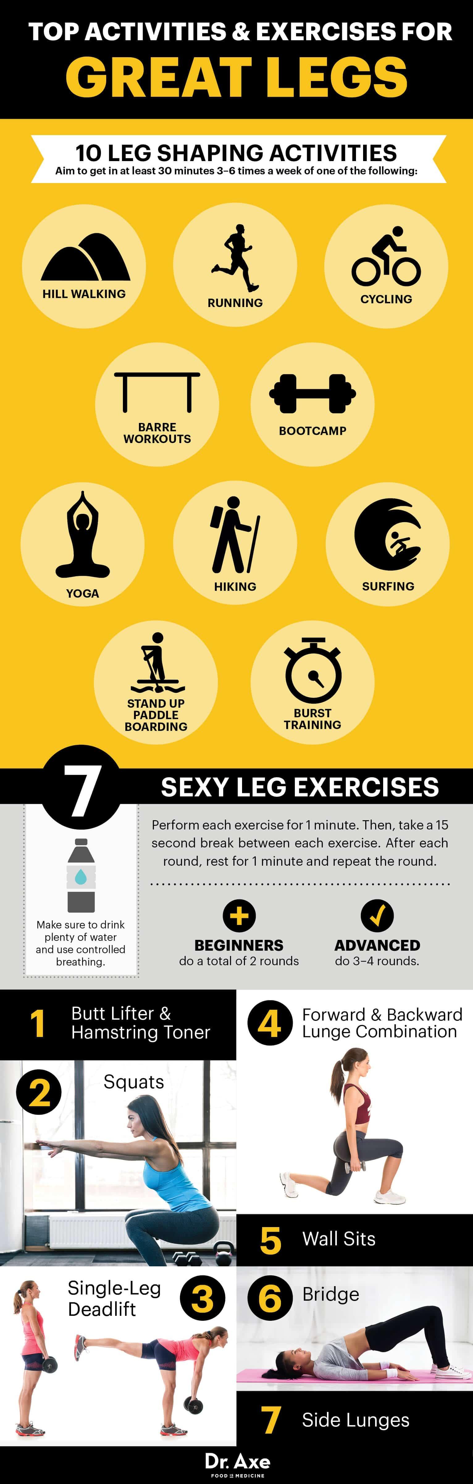 Leg workout - Dr. Axe