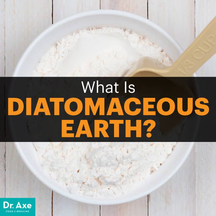 Diatomaceous earth - Dr. Axe