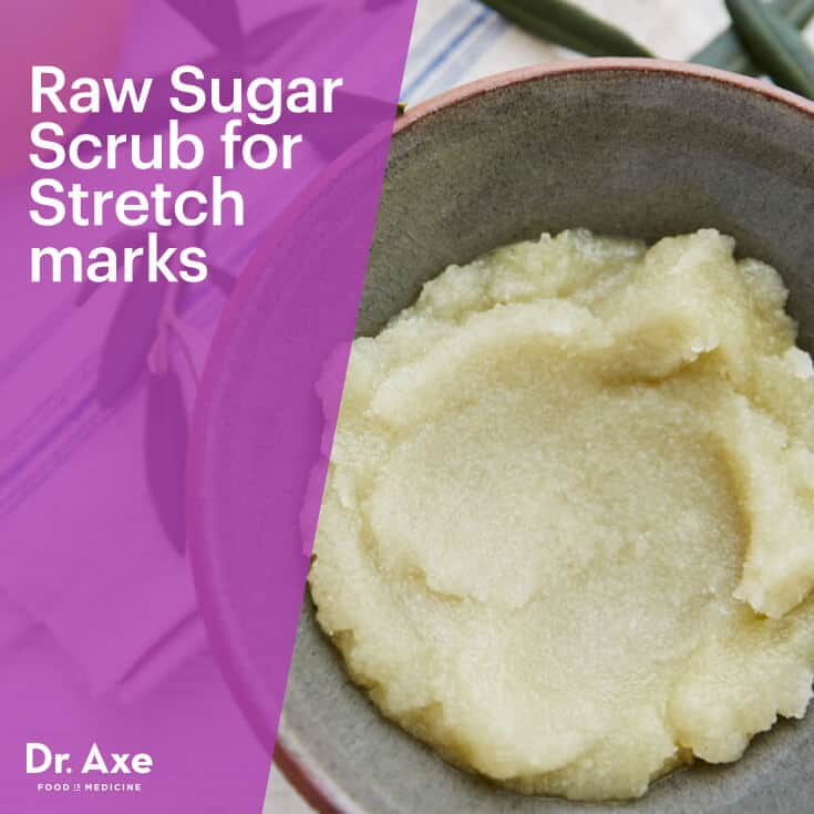 Stretch mark scrub - Dr. Axe