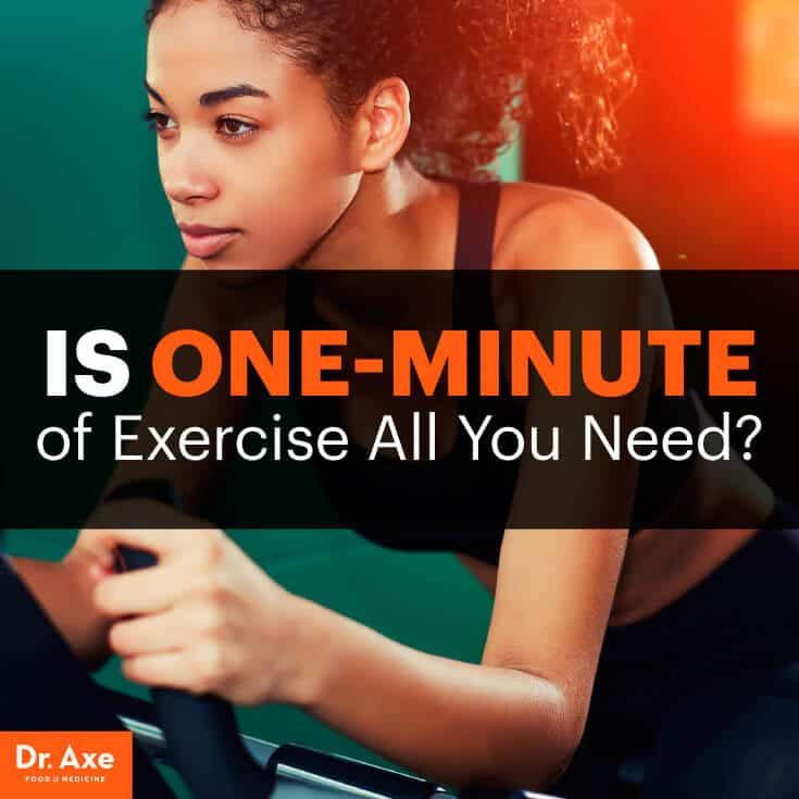 One minute workouts - Dr. Axe