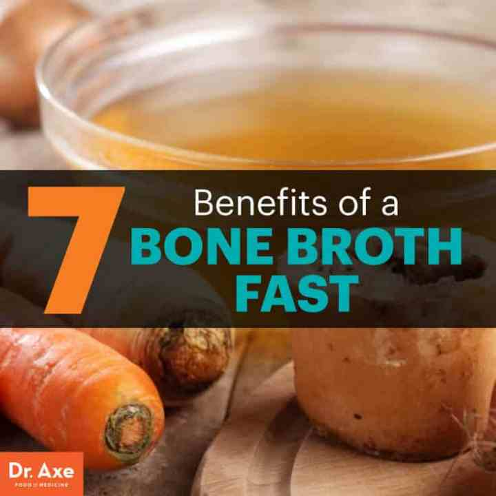 Bone broth fast - Dr. Axe