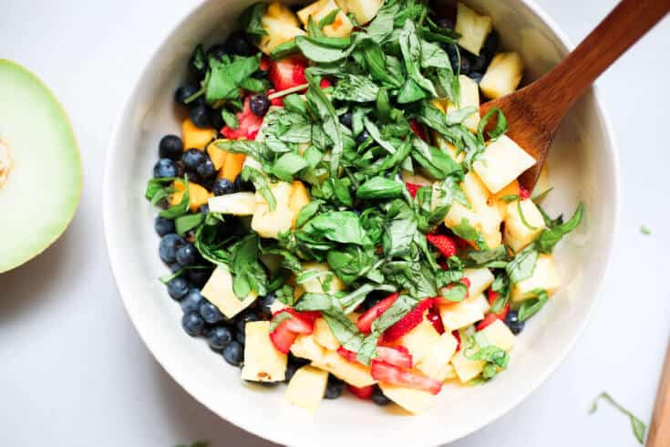 Quinoa salad with fruit recipe - Dr. Axe