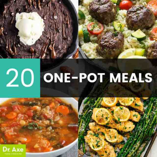 One pot meals - Dr. Axe