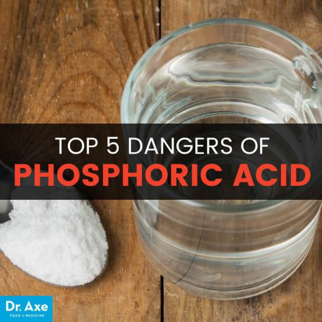Phosphoric acid - Dr. Axe