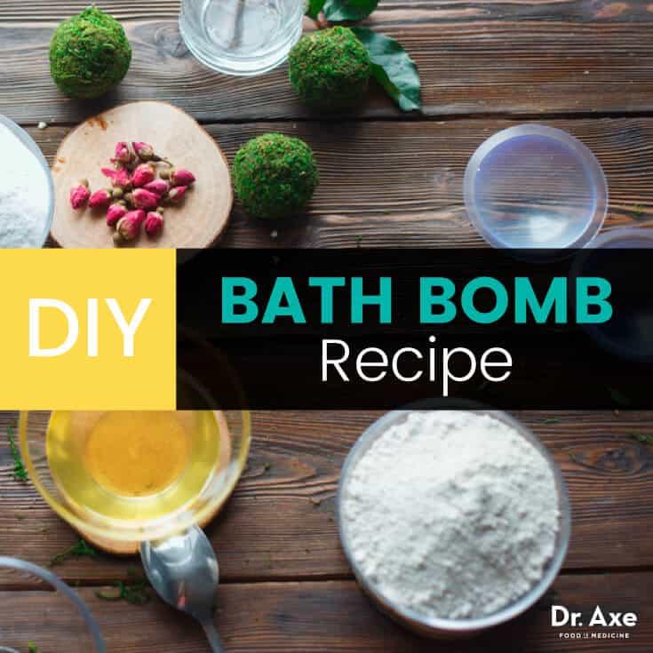 DIY bath bomb recipe - Dr. Axe