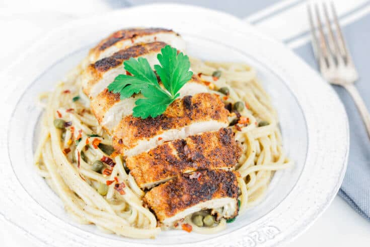 Chicken piccata recipe - Dr. Axe