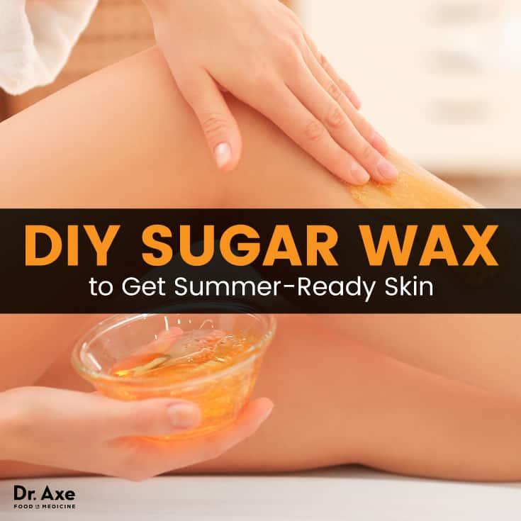 DIY sugar wax - Dr. Axe