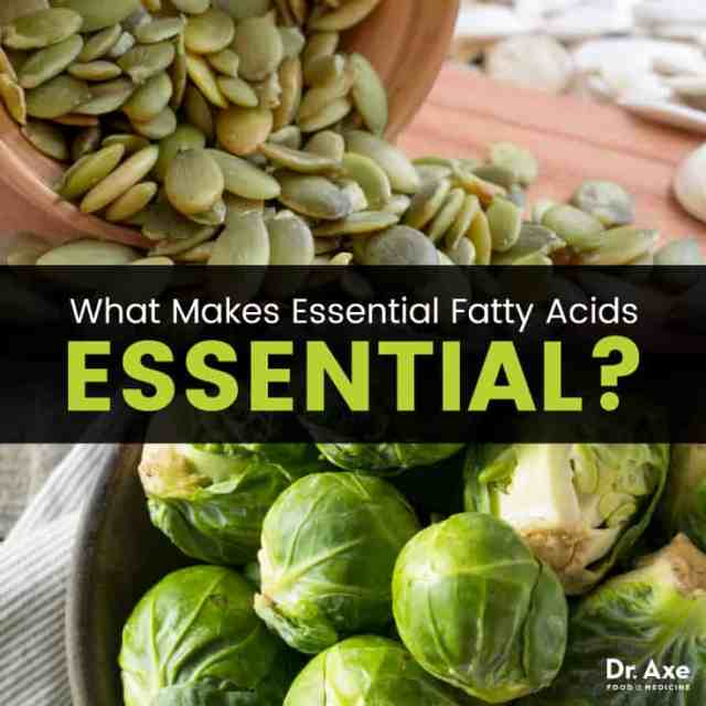 Essential fatty acids - Dr. Axe