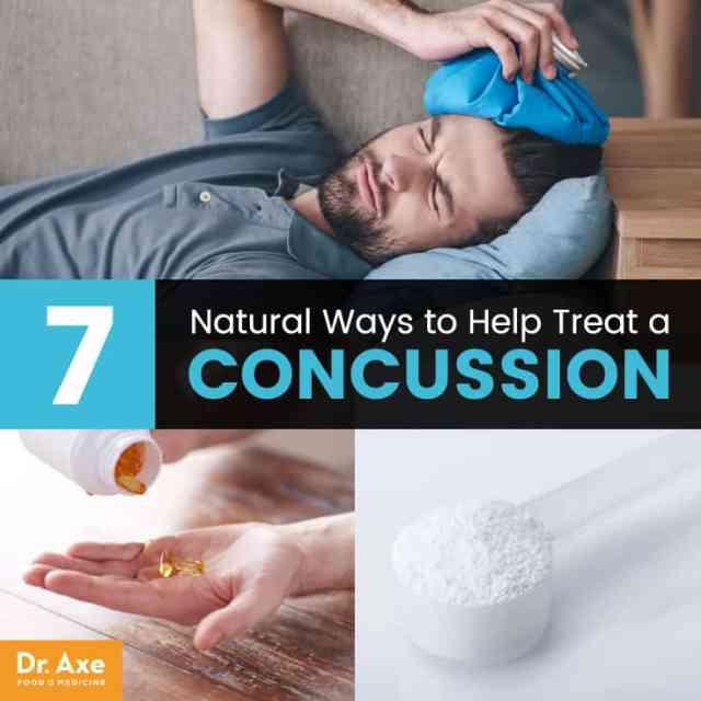 Concussion treatment - Dr. Axe