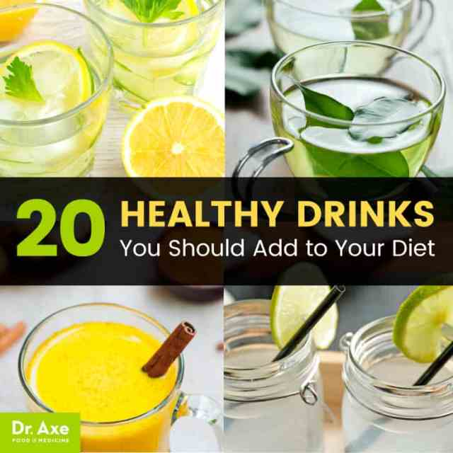 Healthy drinks - Dr. Axe