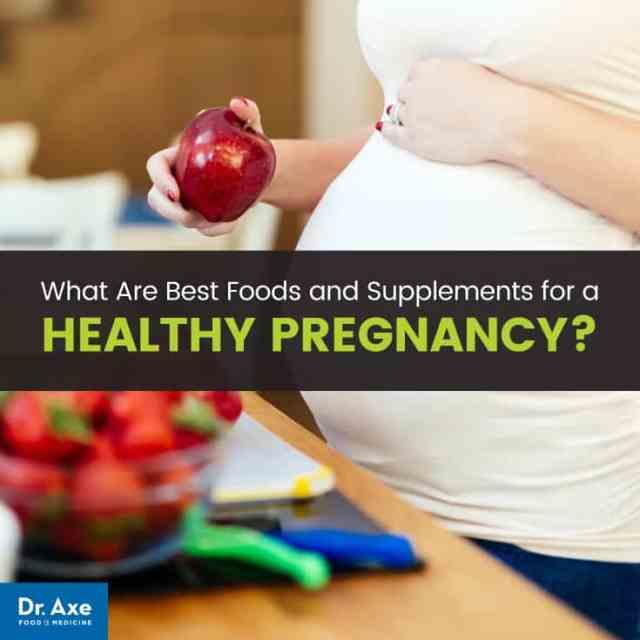 Pregnancy diet - Dr. Axe