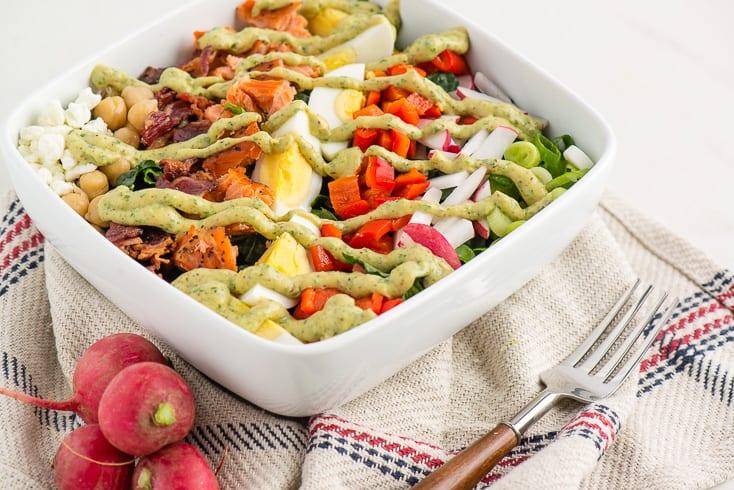Cobb salad recipe - Dr. Axe