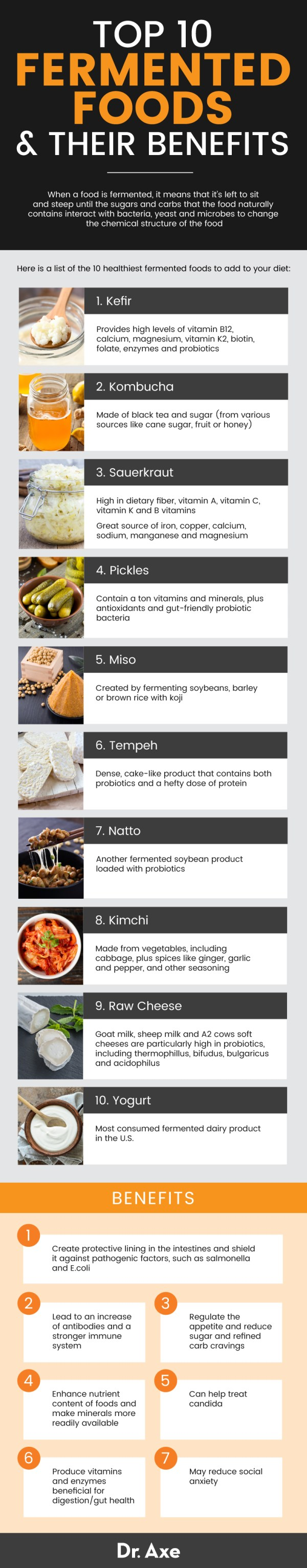 Fermented foods - Dr. Axe