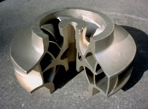 Large Aluminium Bronze Impeller Casting