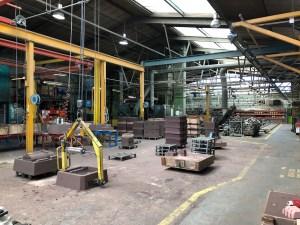 Aluminium & Bronze Casting Foundry UK Floor sand moulding