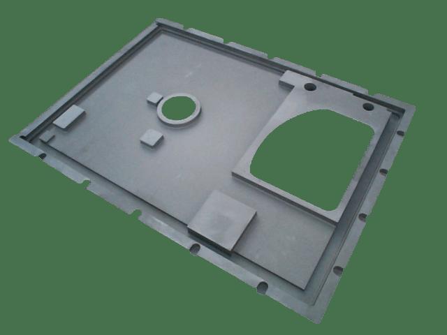 Aluminium Incubator Plate Casting - LM25TF