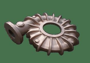 Large Gunmetal Volute Casting - LG2