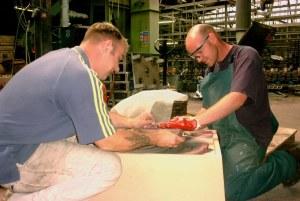 Aluminium bronze impeller casting UK foundry