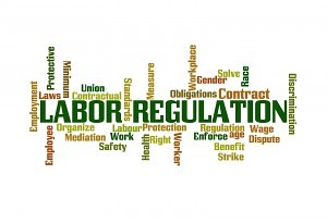 Health Care Labor Laws Word Cloud