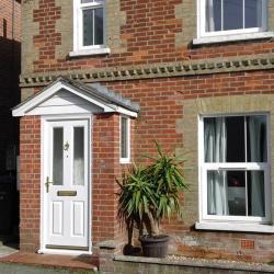Drayton villas front